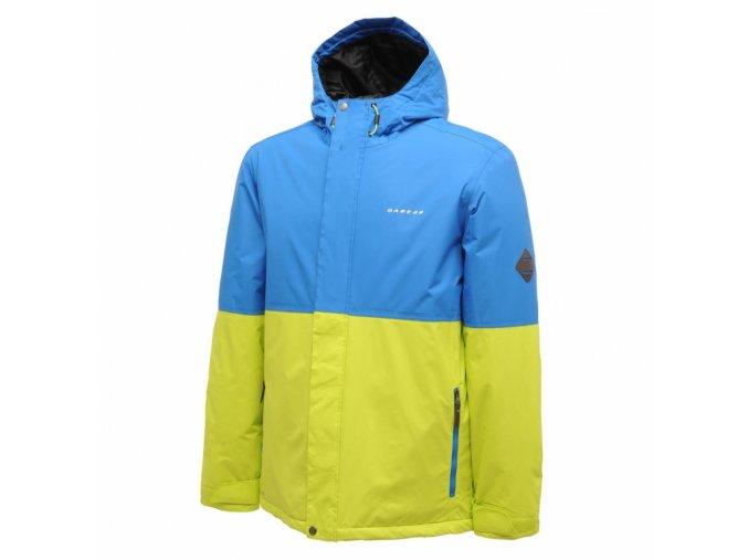 Pánská lyžařská bunda Dare2B DMP149 VENTURE Modrá/Žlutá