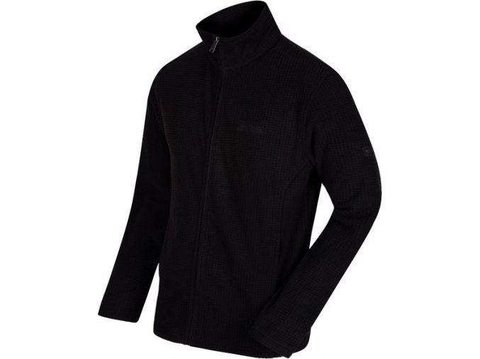 Bluza męska polarowa Regatta RMA293 EDDARD Czarna