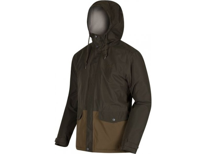 Pánská zimní bunda Regatta RMP214 STERNWAY II Khaki