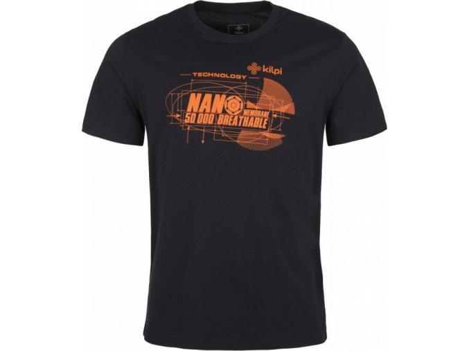 Pánské tričko KILPI NANO-M oranžové černá