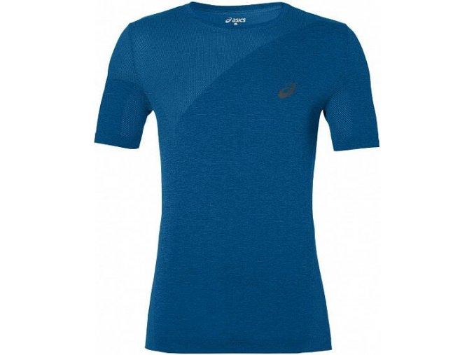 Pánské funkční triko Asics 143605 SEAMLESS Modrá
