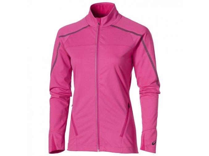 Dámská softshellová běžecká bunda Asics LITE SHOW Winter Růžová