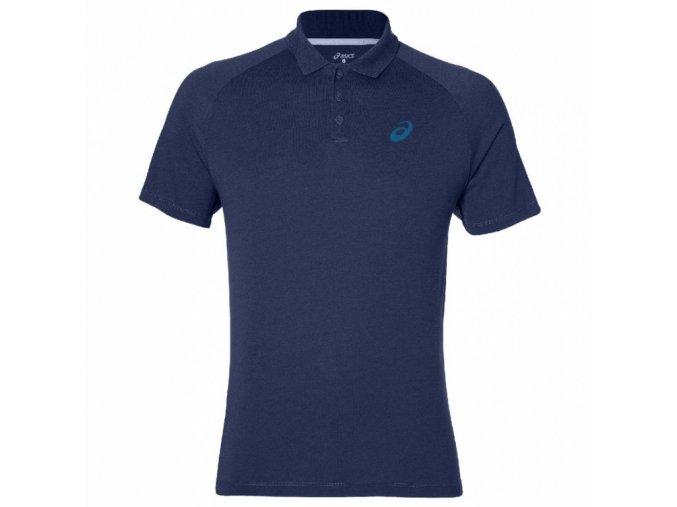Pánské sportovní triko Asics 141160 M CLUB Polo Modrá