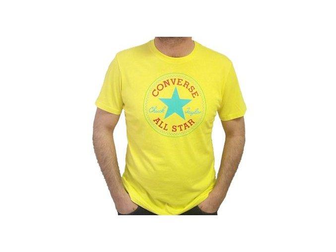 Pánské tričko Converse Core SeaSonal cp Tee žlutá