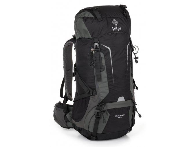 Dvoukomorový turistický batoh KILPI ELEVATION 45+5L Černá 18