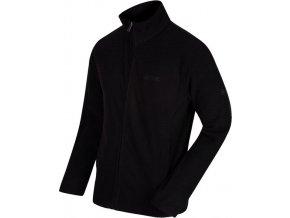 Pánská fleece mikina Regatta RMA293 EDDARD Black