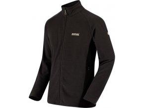 Bluza męska Regatta RMA306 TAFTON Seal Grey/Black