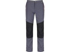 Pánské outdoorové kalhoty Regatta RMJ193R SUNGARI Seal Grey/Bl