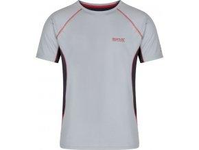 Pánské funkční tričko Regatta RMT141 VIRDA Seal Grey