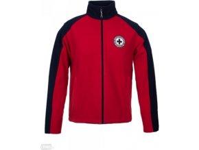 Pánská fleece mikina Regatta SBRMA030 HEDMAN Red