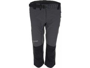Damskie techniczne spodnie 3/4 KILPI SOPHIE szare