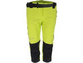 Damskie techniczne spodnie 3/4  KILPI SOPHIE zielone