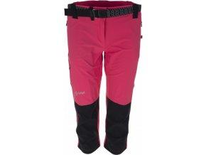 Damskie techniczne spodnie 3/4 KILPI SOPHIE różowy