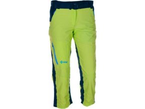 Dámské outdoorové 3/4 kalhoty KILPI GOLA I. Světle zelená