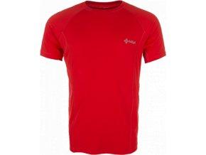 Męska koszulka techniczna KILPI SEVERO czerwona