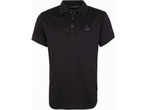Pánské technické polo tričko KILPI JOHAN černá