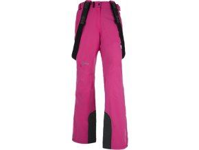 Damskie narciarskie spodnie KILPI ISABELLE różowe