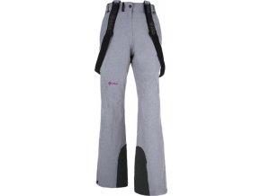 Damskie narciarskie spodnie KILPI ISABELLE  jasnoszare