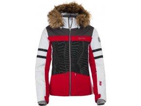 Damska kurtka narciarska KILPI LESIA-W czerwona