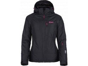 Dámská lyžařská bunda KILPI CHIP-W CHIP-W Černá