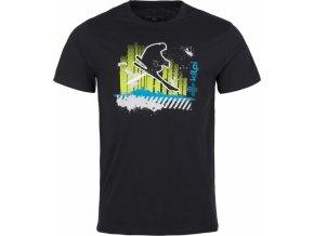 Pánské tričko KILPI SKI-M Černá