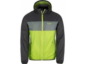 Pánská bunda KILPI AHORN-M Světle zelená