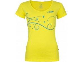 Dámské tričko KILPI MONCAYO-W Žlutá