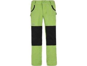 Dětské kalhoty KILPI KARIDO-J Světle zelená