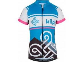 Dívčí cyklistický dres KILPI SEPTIMA-J Růžová