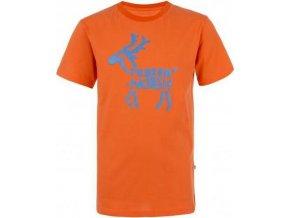 Dětské tričko KILPI KADOVAR-K  Oranžová