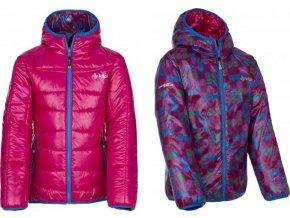 Dívčí zimní bunda KILPI ORTONA-JG růžová