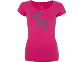 Dámské tričko KILPI PURACE-W Růžová
