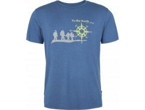Pánské tričko KILPI NORTH-M Modrá