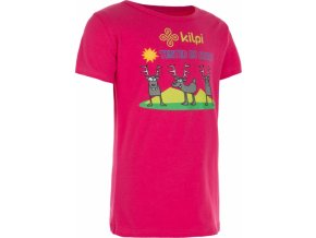 Dětské tričko KILPI AMAKA-J růžová