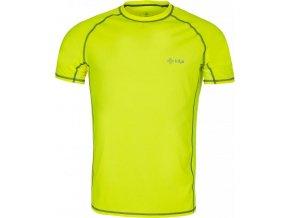 Pánské tričko  KILPI BORDER-M Světle zelená