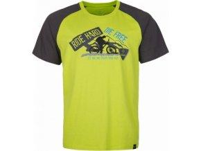 Pánské bavlněné tričko KILPI BIKER-M Světle zelená