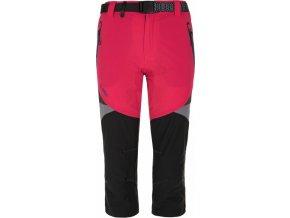 Spodnie 3/4 damskie KILPI TERRAIN-W Różowe