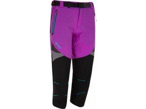 Damskie spodnie 3/4 KILPI TERRAIN-W Fioletowy
