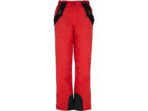 Chlapecké zimní kalhoty KILPI RHEA-JB Červená