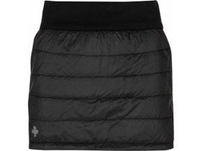 Dámská zateplená sukně KILPI MATIRA-W Černá 18