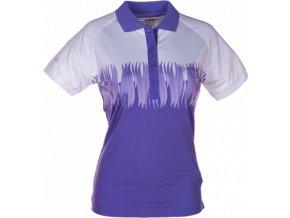 Dámské funkční POLO tričko KILPI SURPRISE II. Fialové