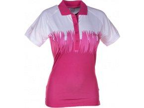 Dámské funkční POLO tričko KILPI SURPRISE II. Růžová