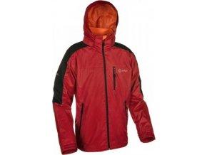 Pánská outdoorová bunda KILPI BIRMINGHAM II. Červená