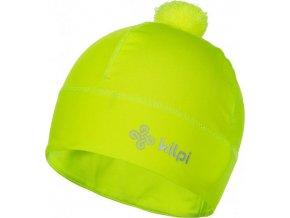 Univerzální fleecová čepice KILPI HOGARD-U  žlutá
