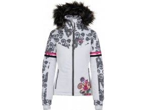 Dámská lyžařská bunda KILPI LENA-W Bílá