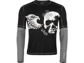 Pánské tričko KILPI EXPLOSION-M černá