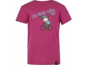 Dívčí tričko KILPI BIKEY-JG Růžová
