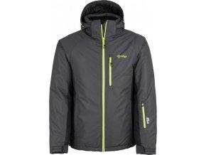 Pánská lyžařská bunda KILPI CHIP-M Tmavě šedá