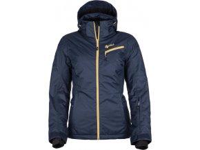 Dámská lyžařská bunda KILPI KANPU-W  Tmavě modrá