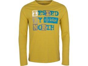 Pánské tričko KILPI TESTED-M Khaki